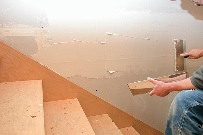 Sealing Drywall WIth Mud